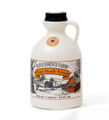 Quart of delicious Grade A amber pure maple syrup from Wisconsin