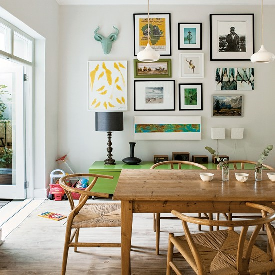 One Dining Room Three Different Ways: Five Ways With The Hans Wegner Wishbone Chair
