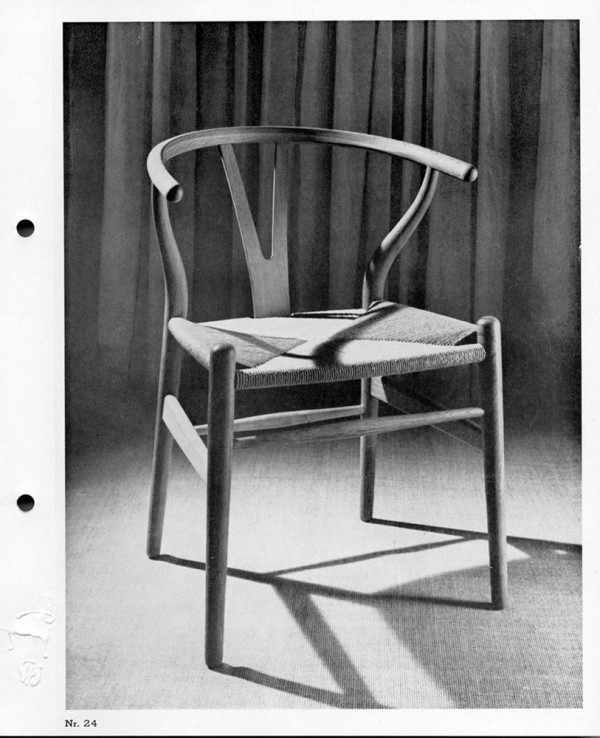 Wishbone Chair Catalogue Photo