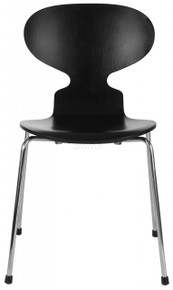 Black Arne Jacobsen Ant Chair Front