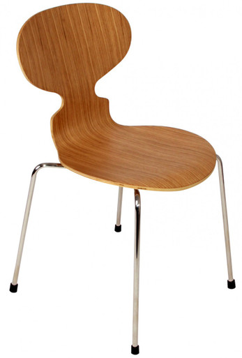 Replica arne jacobsen ant chair natural oak 59 for Arne jacobsen stehlampe replica