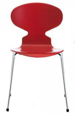 Red Replica Arne Jacobsen Ant Chair