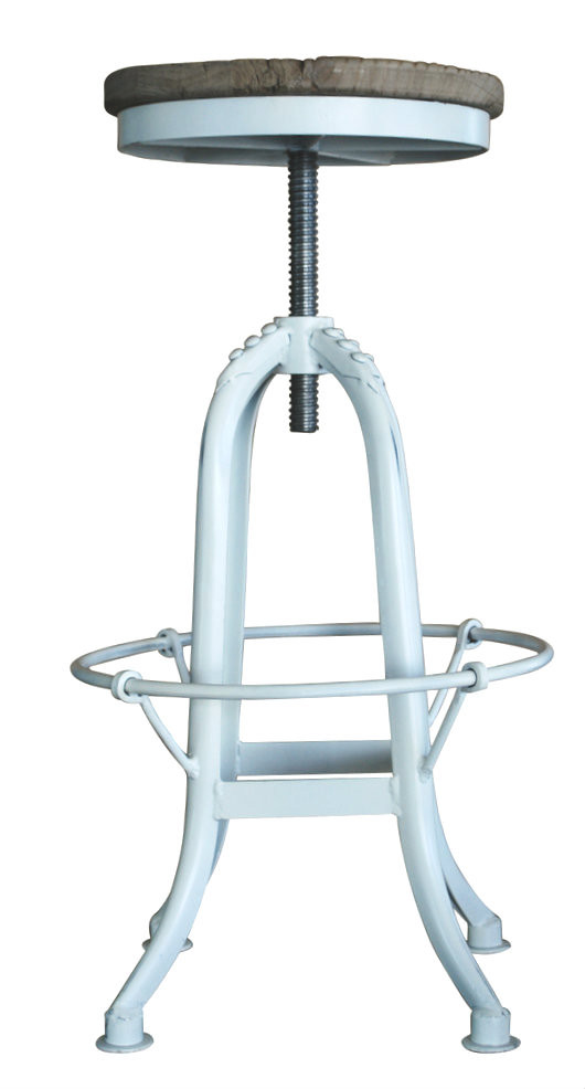 Industrial Iron Stool White Stools Chairs