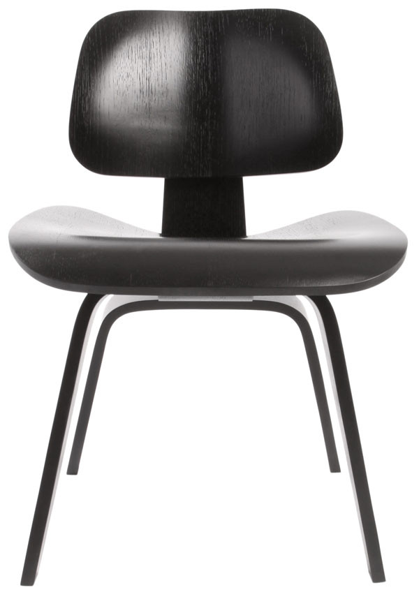 Black Eames Dining Chair Wood