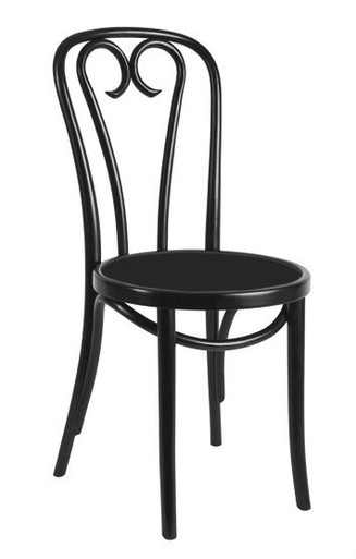 Replica thonet sweetheart chair black 169 for Thonet replica chair