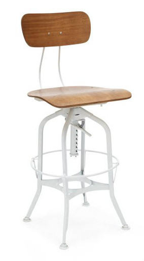 White Replica Toledo Stool