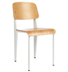 Replica Jean Prouvé Standard Chair - White