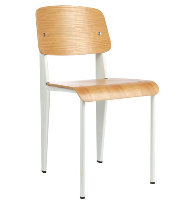 ... Replica Jean Prouvé Standard Chair   White. Image 1