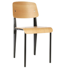Replica Jean Prouve Standard Chair in Black