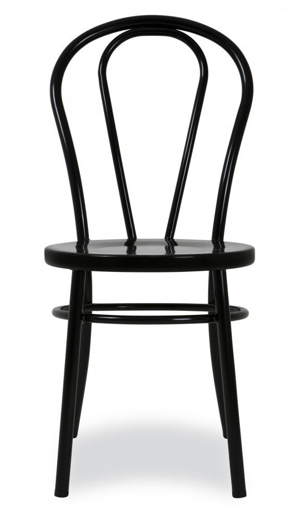 Black Metal Bentwood Chair With Cushion Only 109 Shop Now