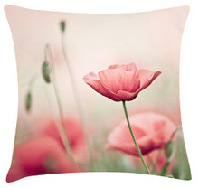 Pink Poppy Cushions
