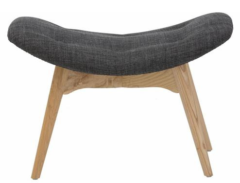 Awesome Grant Featherston Replica Lounge Ottoman Charcoal Machost Co Dining Chair Design Ideas Machostcouk