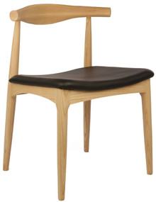 Replica Hans Wegner Elbow Chair - Natural
