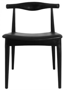 Black Elbow Chair