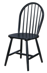 Classic Windsor Chair Black