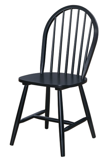 Attrayant Classic Windsor Chair Black