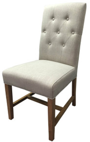 Natural Fabric Dixon Chair