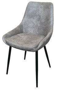 Martine Dining Chair - Concrete Grey
