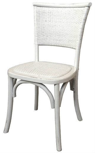 White Rustic Chair