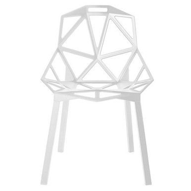 Replica Konstantin Grcic Magis Chair One in White