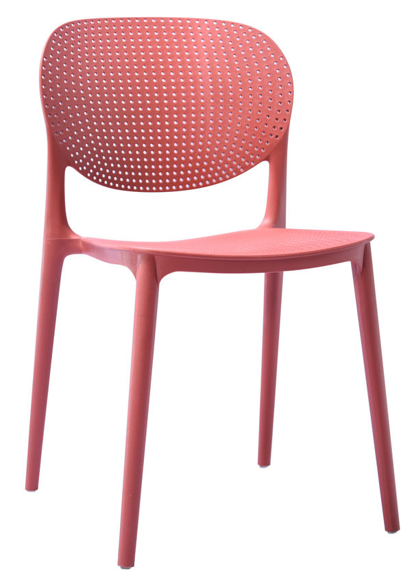 Sydney Outdoor Dining Stackable Chair Red