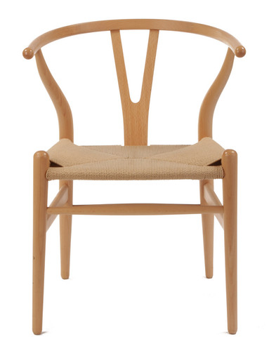 Natural Wishbone Chair