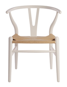 White Wishbone Chair
