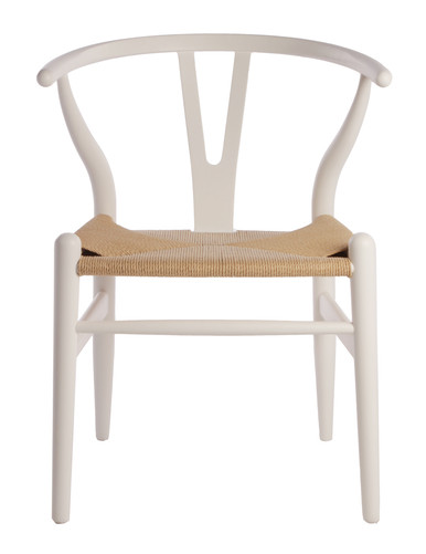 Replica Wegner Wishbone Chair White 169