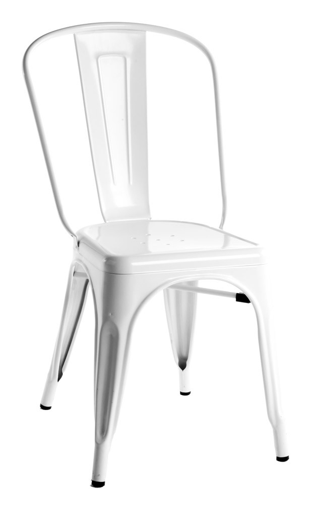 High Quality White Tolix Chair Side