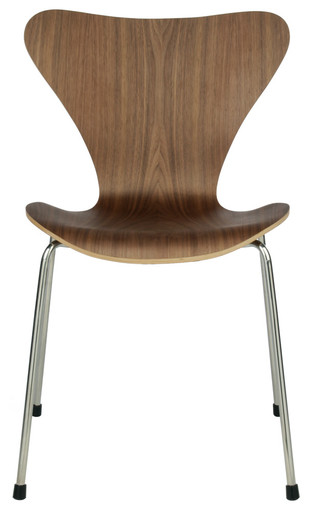 Replica Arne Jacobsen Series 7 Chair - Walnut