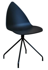 Replica Karim Rashid Ottawa Dining Chair - Black