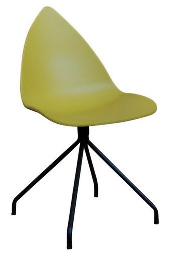 Replica Karim Rashid Ottawa Dining Chair - Mustard Yellow