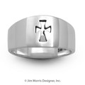 Incised Cross Ring