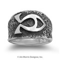 Alpha Omega Ichthus Ring