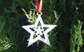 Heart Star Ornament