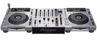 2 x Pioneer CDJ-850s and 1 x Pioneer DJM-700 Mixer
