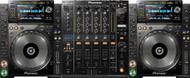 2 x Pioneer CDJ-2000s Nexus and 1 x Pioneer DJM-900 Nexus Mixer