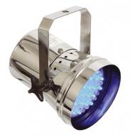 Silver LED Par 36 Pin Spot RGB DMX