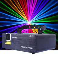 Power 7 RGB 1050mW Full Colour Laser