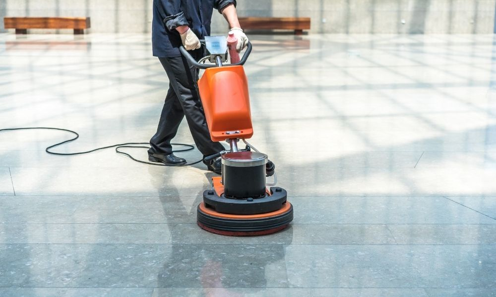 Safety Hazards To Know When Grinding and Polishing Concrete