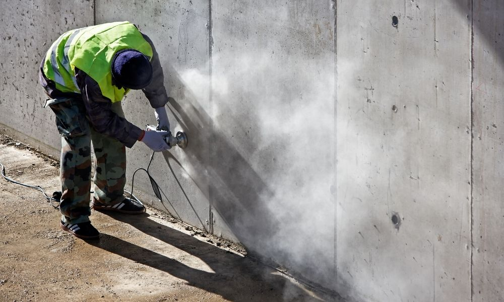 Ways To Reduce Dust Produced by Concrete Grinding