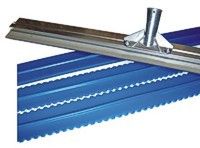 Mil squeegee frame for spreading epoxy. Great for Duraflex