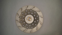 "12 Segment Diamond Cup Wheel (7"" x 5/8-11....The industry economy blade. Bedrocks top Seller!!..."