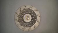 "12 Segment Diamond Cup Wheel (7"" x 5/8-11....The industry economy blade. Bedrocks top Seller!!..."
