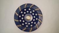 "12 Segment Diamond Cup Wheel Hard Bond (7"" x 5/8-11)  PERFECT for SOFT concrete!!!"