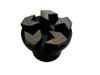 This arrow shape segment metal grinding disc is used for aggressive removal applications. The wide gaps between segments offer more of a cutting edge and will not load or gum up as much. The arrow shape is perfect for all coatings such as epoxy, urethane paint, mastic and other similar coatings.