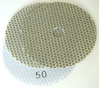 velcro backed electroplated diamond polishing pads