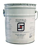 SCOFIELD® Formula One™ Finish Coat is used on ground and polished concrete after treatment with SCOFIELD Formula One Lithium Densifier