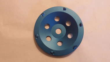 PCD Saber Tooth Cup Wheel ( VERY aggressive blade) Designed to rip and tear.