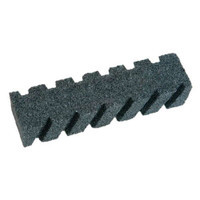 "8"" X 2"" X 2"" 20 Grit Fluted Rub Brick without Handle"